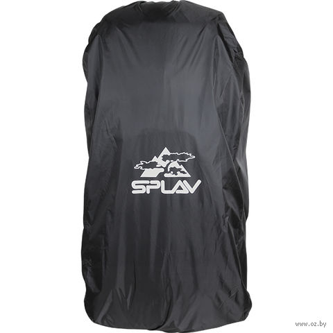 Накидка на рюкзак (130 л; чёрная) — фото, картинка