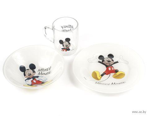 "Набор для завтрака ""Mickey"" (3 предмета) — фото, картинка"