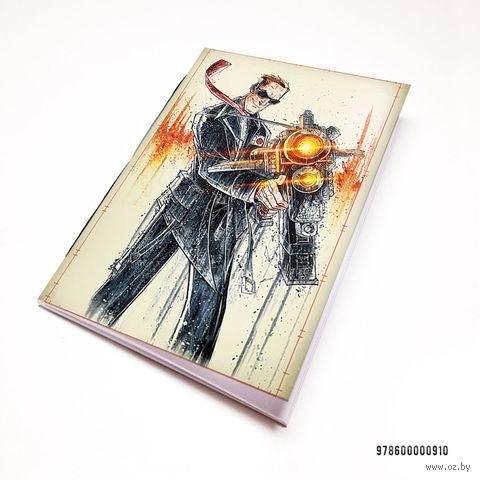 "Блокнот белый ""Георгий"" А7 (арт. 910)"