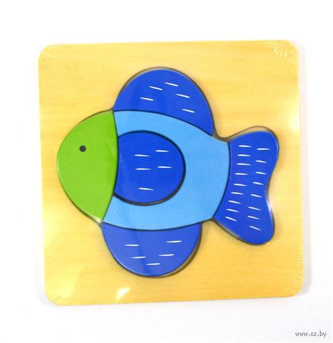 "Рамка-вкладыш ""Рыбка"" — фото, картинка"