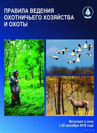 Правила ведения охотничьего хозяйства и охоты — фото, картинка
