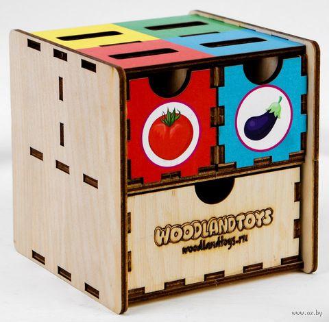 """Деревянная игрушка """"Комодик. Овощи"""" — фото, картинка"""