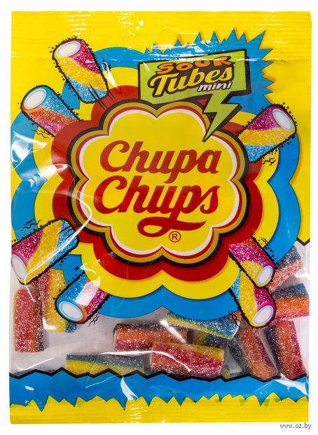 """Мармелад """"Chupa Chups. Sour tubes mini"""" (150 г) — фото, картинка"""