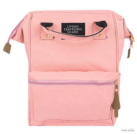 """Рюкзак """"Traveling"""" (розовый) — фото, картинка"""