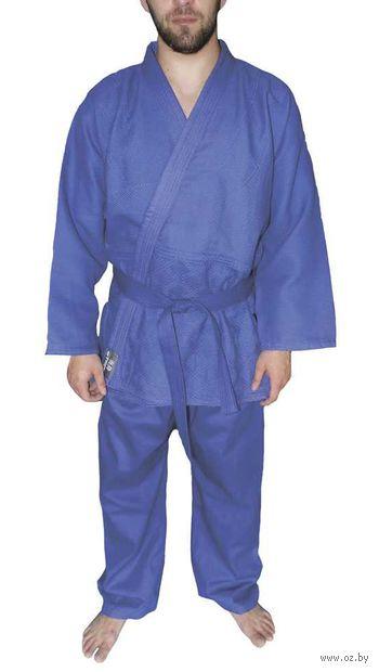 Кимоно для дзюдо AX7 (р. 32-34/135; синее) — фото, картинка