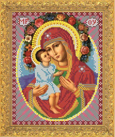 """Вышивка бисером """"Пресвятая Богородица. Жировицкая"""" (арт. 8375)"""