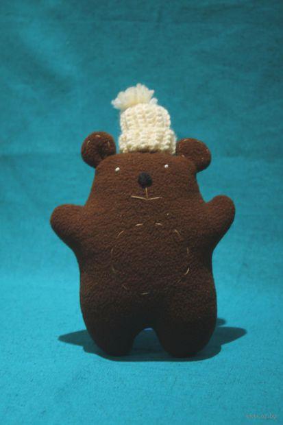 "Кукла Мишка в шапке"" (20 см) — фото, картинка"
