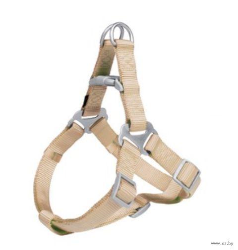 "Шлея ""Premium Harness"" (размер L; 65-80 см; бежевый)"