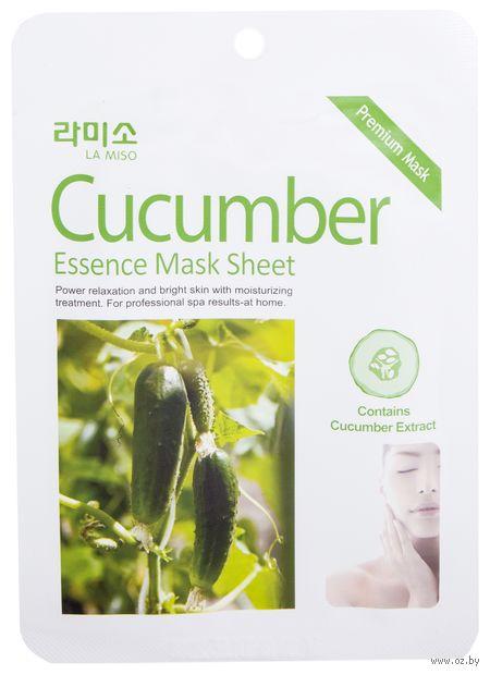 """Тканевая маска для лица """"С экстрактом огурца"""" (21 г) — фото, картинка"""