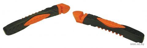"""Накладки тормозные для велосипеда """"ABS-01VСR"""" (чёрно-оранжевые; 72 мм) — фото, картинка"""