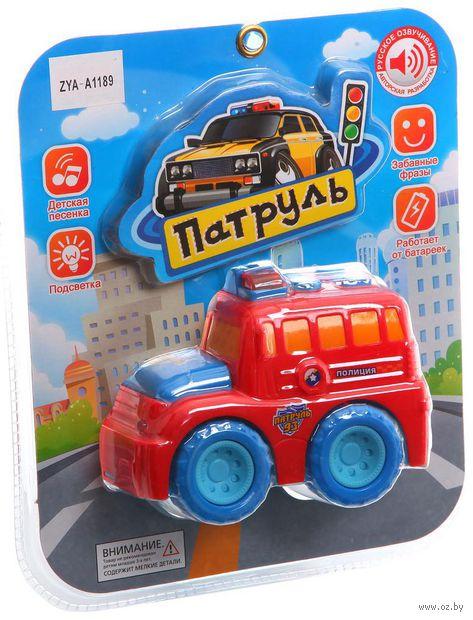"""Пожарная машина """"Патруль"""" (со звуковыми и световыми эффектами)"""