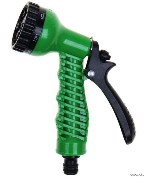 Пистолет для полива пластмассовый (6 режимов)