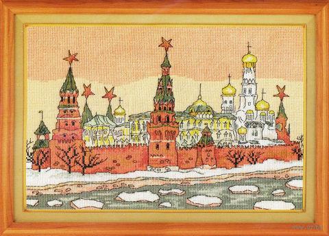 """Вышивка крестом """"Москва"""""""