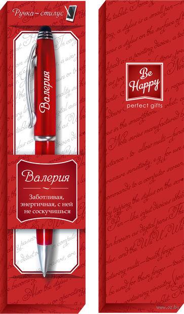"""Ручка шариковая со стилусом """"Валерия"""" — фото, картинка"""