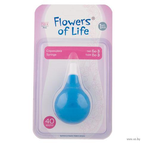 "Аспиратор для носа детский ""Flowers of Life"" — фото, картинка"
