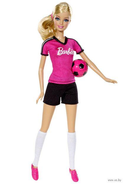 """Кукла """"Барби. Кем быть?"""" (футболистка)"""