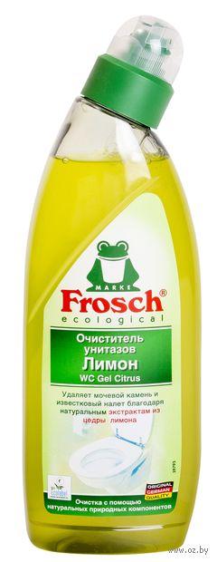"""Гель для чистки унитазов """"Лимон"""" (750 мл)"""