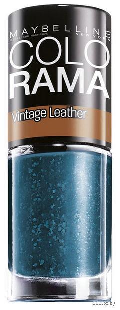 "Лак для ногтей ""Colorama, Vintage Leather"" (тон 207, синий; 7 мл)"