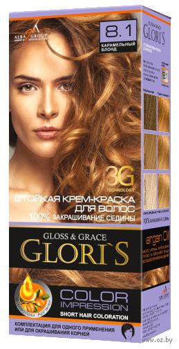 Крем-краска для волос (тон: 8.1, карамельный блонд)