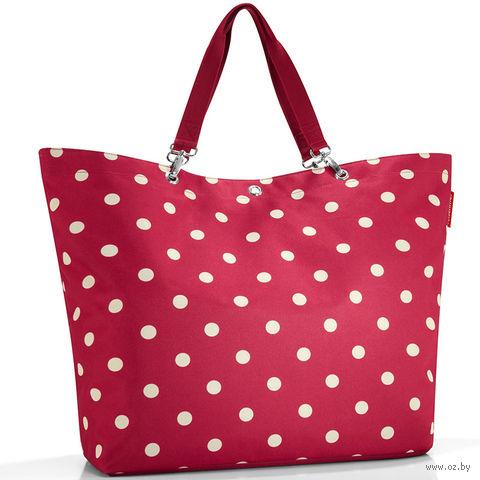 """Сумка """"Shopper"""" (XL, ruby dots)"""
