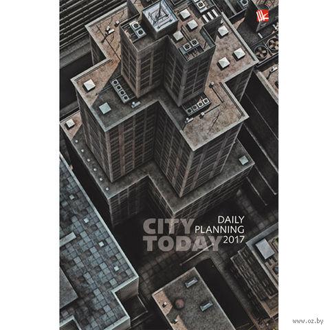 """Ежедневник датированный """"Городской стиль. Мегаполис"""" (А5; 176 листов)"""