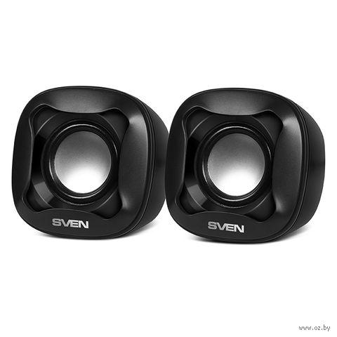 Акустическая система 2.0 Sven 170 (черная) — фото, картинка