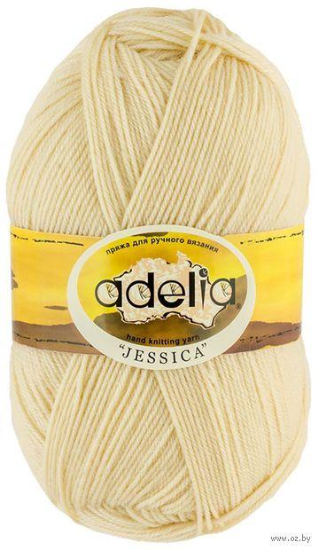 "Пряжа ""Adelia. Jessica №19"" (100 г; 260 м; экрю) — фото, картинка"
