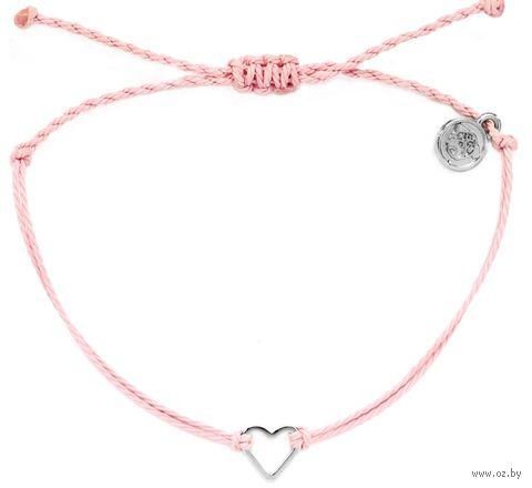 """Браслет """"Сердце"""" (розовый) — фото, картинка"""