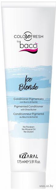 """Оттеночный кондиционер для волос """"С маслом карите"""" тон: ice blonde — фото, картинка"""