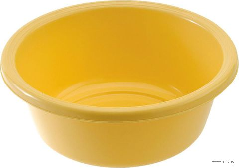 Миска пластмассовая круглая (20 см, 1,4 л)