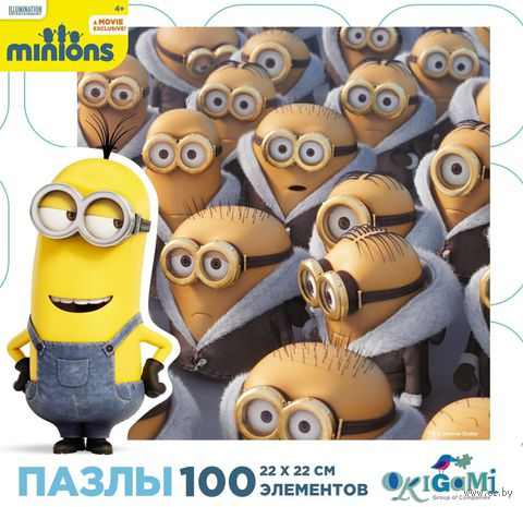 "Пазл ""Миньоны"" (100 элементов; арт. 01700)"