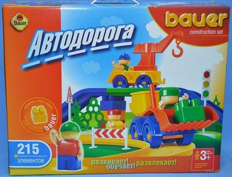 """Конструктор """"Автодорога"""" (215 деталей; арт. 250)"""