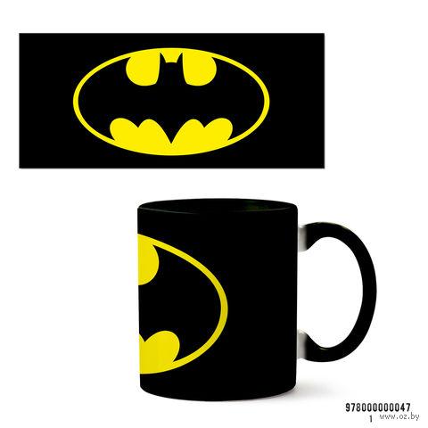 """Кружка """"Бэтмен"""" (047, черная)"""