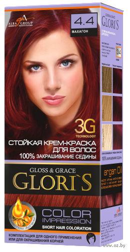 Крем-краска для волос (тон: 4.4, махагон)