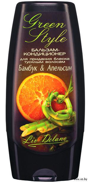 """Бальзам-кондиционер для волос """"Бамбук и апельсин"""" (200 г) — фото, картинка"""