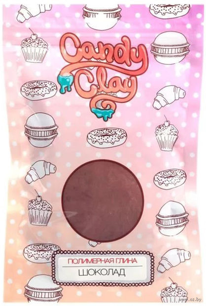 """Глина полимерная """"Шоколад"""" — фото, картинка"""