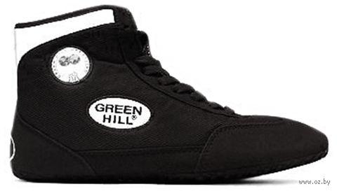 Обувь для борьбы GWB-3052/GWB-3055 (р. 36; чёрно-белая) — фото, картинка