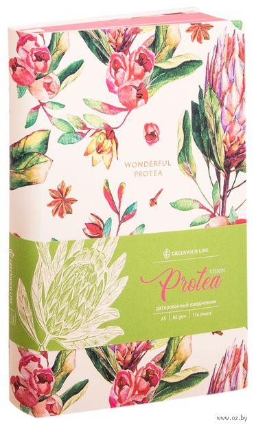 """Ежедневник датированный """"Protea"""" (А5; 2020) — фото, картинка"""