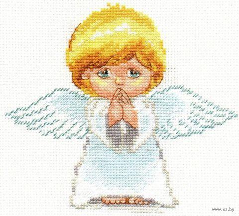 """Вышивка крестом """"Мой ангел"""""""