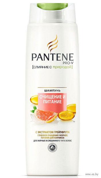 """Шампунь для волос """"Pantene Pro-V. Очищение и питание"""" (400 мл) — фото, картинка"""