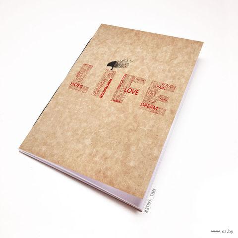 """Блокнот крафт """"Life"""" А7 (397)"""