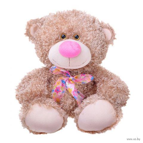 """Мягкая игрушка """"Медвежонок Ник"""" (34 см; бисквитный) — фото, картинка"""