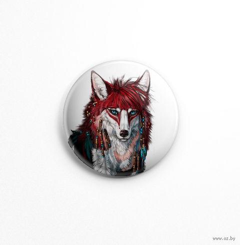 "Значок маленький ""Волк"" (арт. 695) — фото, картинка"