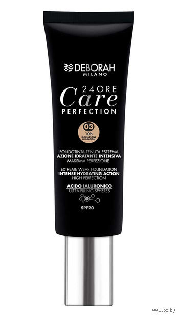 "Тональная основа для лица ""DH FDT 24Ore Care Perfection"" SPF 20 (тон: 03) — фото, картинка"