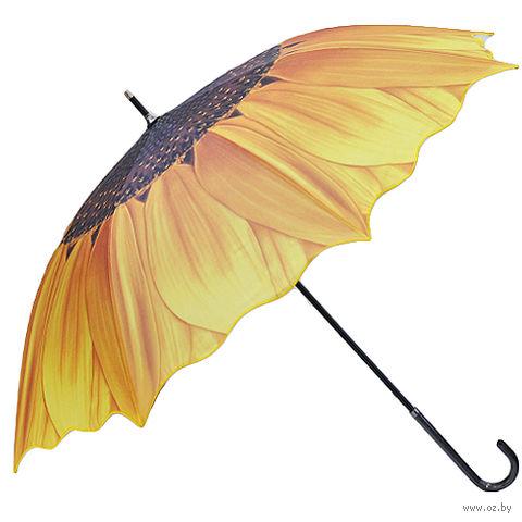 """Зонт-трость """"Подсолнух"""" — фото, картинка"""