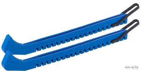 Чехлы для лезвия коньков (пара; синие) — фото, картинка
