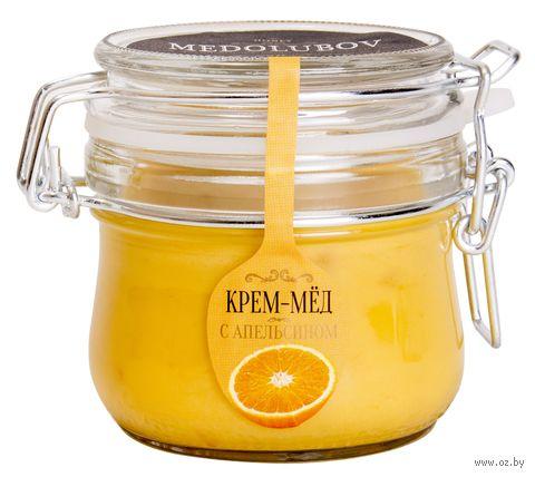 "Крем-мёд ""Medolubov. С апельсином"" (250 мл) — фото, картинка"