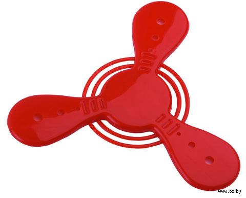 Летающий диск (красный, арт. 549421)