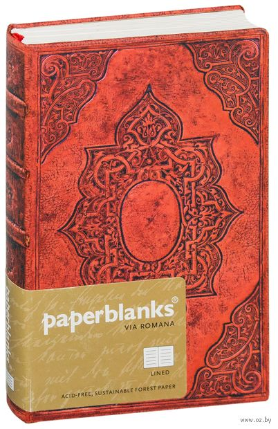"Записная книжка Paperblanks ""Фортуна"" в линейку (формат: 95*140 мм, мини)"