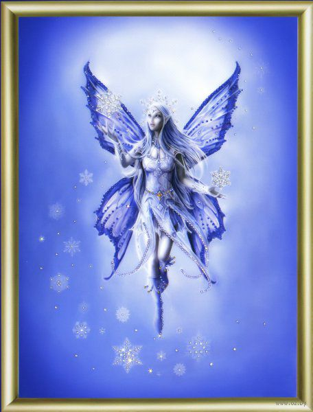 "Алмазная вышивка-мозаика ""Зимняя фея"""